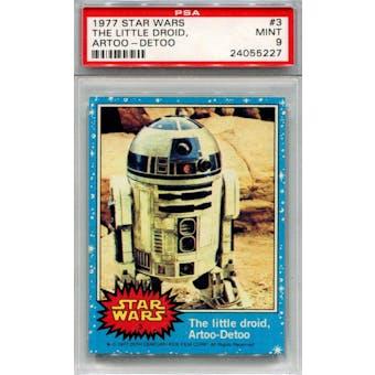 1977 Topps Star Wars #3 Artoo-Detoo R2-D2 PSA 9 *5227 (Reed Buy)