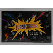 1993 Wild Card Superchrome High # Football Hobby Box (Reed Buy)