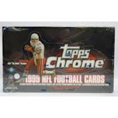 1999 Topps Chrome Football Hobby Box (Reed Buy)
