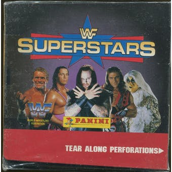 1997 Panini WWF Superstars Wrestling Box