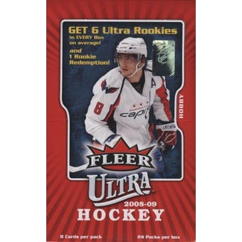 2008/09 Fleer Ultra Hockey Hobby Box