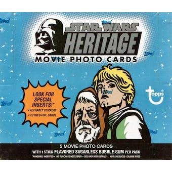 Star Wars Heritage 24 Pack Box (2004 Topps)