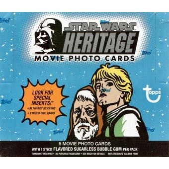 Star Wars Heritage 24 Pack Box (2004 Topps)