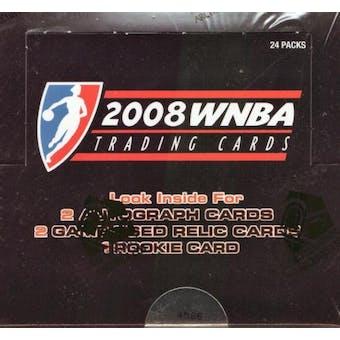 2008 Rittenhouse WNBA Basketball Hobby Box