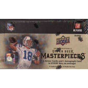 2008 Upper Deck Masterpieces Football Hobby Box