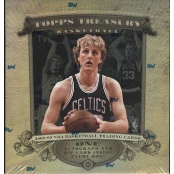 2008/09 Topps Treasury Basketball Hobby Box