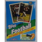 1992 Topps High Number Football Hobby Box (Reed Buy)