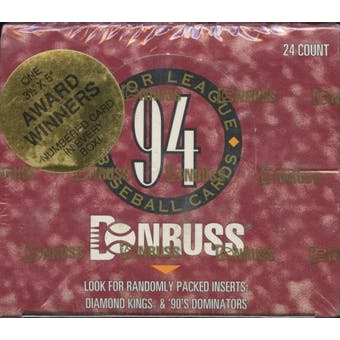 1994 Donruss Series 2 Baseball Jumbo Box