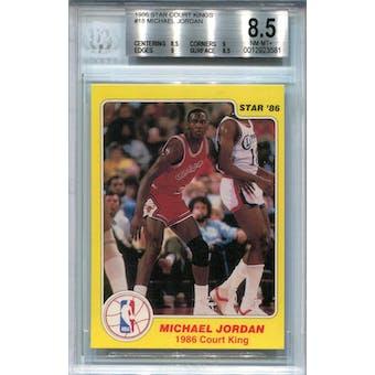 1986 Star Court Kings #18 Michael Jordan BGS 8.5 *3581 (Reed Buy)