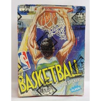 1989/90 Fleer Basketball Wax Box (BBCE) (Reed Buy)