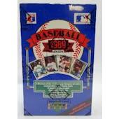 1989 Upper Deck High # Baseball Wax Box (BBCE) (Reed Buy)