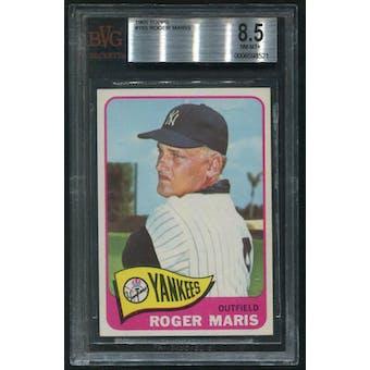 1965 Topps Baseball #155 Roger Maris BVG 8.5 (NM-MT+)