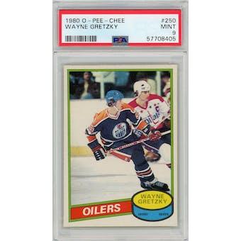 1980/81 O-Pee-Chee #250 Wayne Gretzky PSA 9 *8405 (Reed Buy)