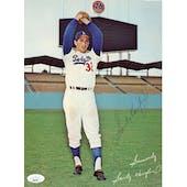 Sandy Koufax Dodgers Autographed 8x10 Color Photo JSA QQ09784 (Reed Buy)