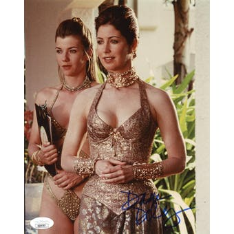 Dana Delany Exit to Eden Autographed 8x10 Color Photo JSA QQ09787 (Reed Buy)