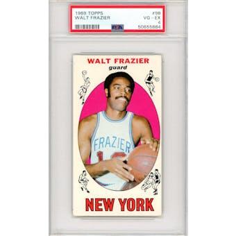 1969/70 Topps #98 Walt Frazier RC PSA 4 *5884 (Reed Buy)