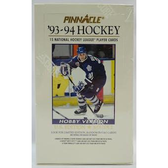1993/94 Pinnacle Series 2 US Hockey Hobby Box (Reed Buy)
