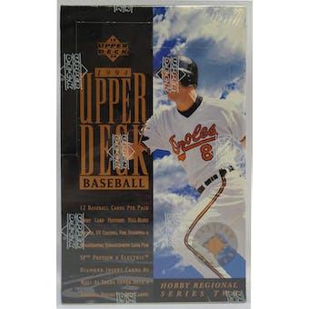 1994 Upper Deck Eastern Series 2 Baseball Hobby Box (Reed Buy)