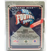 1991 Upper Deck High Series Football Factory Set (Reed Buy)