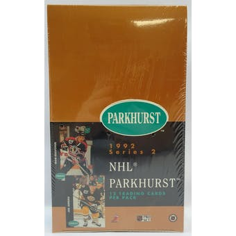 1991/92 Parkhurst U.S. Series 2 Hockey Hobby Box (Reed Buy)
