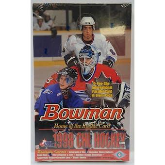 1998/99 Bowman CHL Prospects Hockey Hobby Box (Reed Buy)