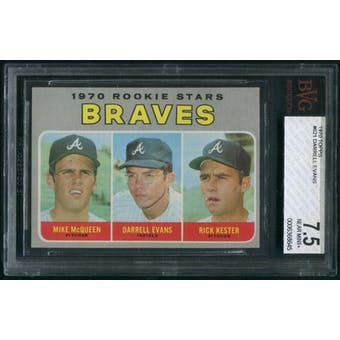1970 Topps Baseball #621 Darrell Evans Rookie BVG 7.5 (NM+)