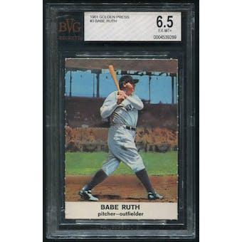 1961 Golden Press Baseball #3 Babe Ruth BVG 6.5 (EX-MT+)