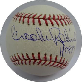 Brooks Robinson Autographed MLB Baseball (HOF 83) Tristar/MLB COA (Reed Buy)
