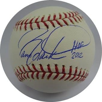 Barry Larkin Autographed MLB Baseball (HOF 2012) W490494 (Reed Buy)