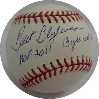 Bert Blyleven Autographed MLB Baseball (w/ multiple insc.) PSA 4A02203 (Reed Buy)