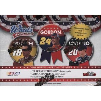 2008 Press Pass Wheels American Thunder Racing Hobby Box