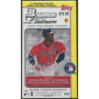 2010 Bowman Platinum Baseball Blaster Box