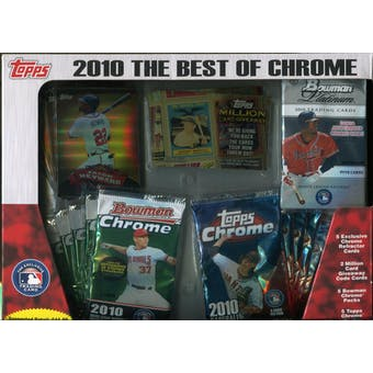 2010 Topps The Best Of Chrome Baseball Box