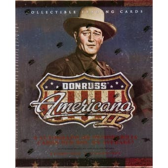 2008 Donruss Americana 2 Hobby Box