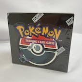 Pokemon Team Rocket 1st Edition Booster Box (EX-MT) (Reed Buy)