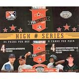 2008 TriStar Projections Baseball High Series Hobby Box