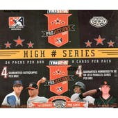 2008 TriStar Projections Baseball High Series Hobby Box