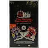 1991/92 Pro Set English Series 2 Hockey Wax Box (Reed Buy)