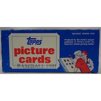 1991 Topps Baseball Vending Box (Reed Buy)
