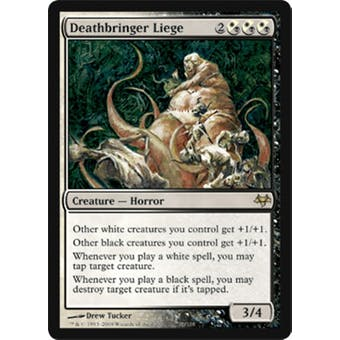 Magic the Gathering Eventide Single Deathbringer Liege - NEAR MINT (NM)