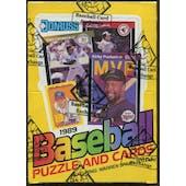 1989 Donruss Baseball Wax Box (BBCE)