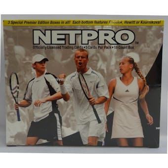 2003 NetPro Tennis Hobby Box (Reed Buy)