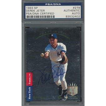 1993 SP #279 Derek Jeter RC Autograph PSA/DNA *2402 (Reed Buy)