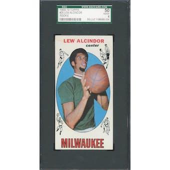 1969/70 Topps #25 Lew Alcindor RC SGC 50 *0004 (Reed Buy)
