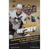 2008/09 Upper Deck Series 1 Hockey Hobby Box