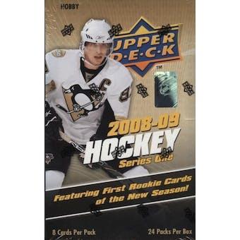 2008/09 Upper Deck Series 1 Hockey Hobby Box