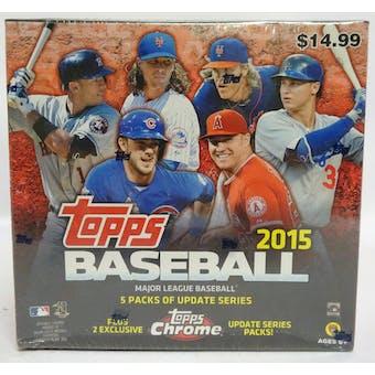 2015 Topps Update Baseball Mega 7-Pack Box (Reed Buy)