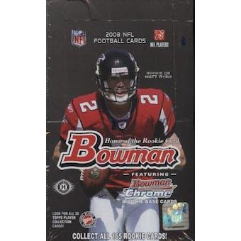 2008 Bowman Football Hobby Box