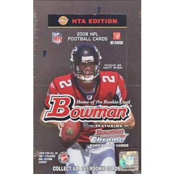 2008 Bowman Football Jumbo Box