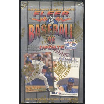 1996 Fleer Update Baseball Hobby Box
